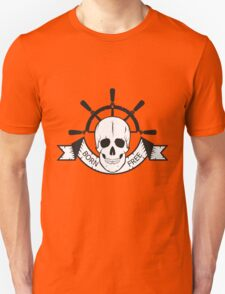 "The skull of a ""sea devil""  pirate logo  T-Shirt"
