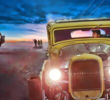 American Graffiti Paradise Road Sticker