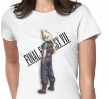 Final Fantasy Character - VII Cloud Womens Fitted T-Shirt
