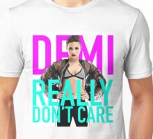 HOT DEMI LOVATO REALLY DON'T CARE By safma Unisex T-Shirt
