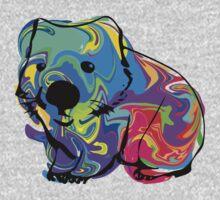 Colorful Wombat Kids Tee
