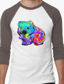 Colorful Wombat Men's Baseball ¾ T-Shirt