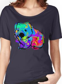 Colorful Wombat Women's Relaxed Fit T-Shirt