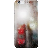 Raindrops on the window  iPhone Case/Skin
