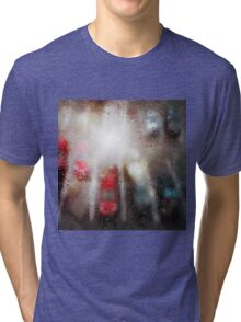 Raindrops on the window  Tri-blend T-Shirt