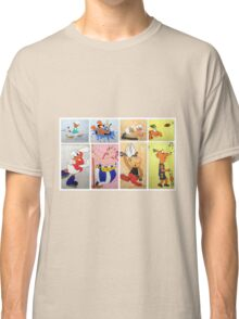 Cartoon Characters  Classic T-Shirt