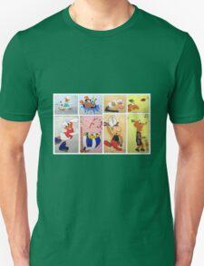 Cartoon Characters  Unisex T-Shirt