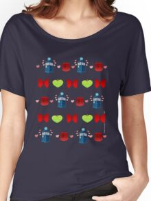 Whovian pattern Women's Relaxed Fit T-Shirt