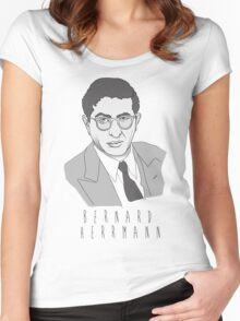 """The Bernard Herrmann"" Women's Fitted Scoop T-Shirt"