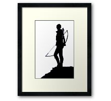 Hunger Games Framed Print