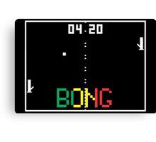 "ATARI Pong ""BONG"" game Canvas Print"