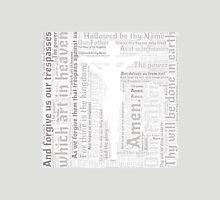 Lord's Prayer - English - Grey Unisex T-Shirt