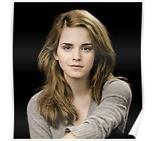 Beautiful Emma Watson by safma Poster