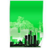 Green Town Poster