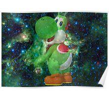 galaxy yoshi Poster
