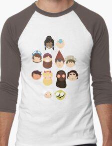 The faves Men's Baseball ¾ T-Shirt
