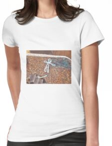 wire man Womens Fitted T-Shirt