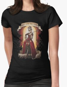 Goode Save Harley Quinn Womens Fitted T-Shirt