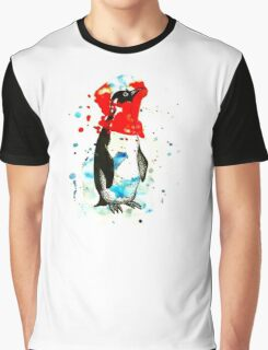 Penguin Dreaming Graphic T-Shirt