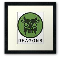 The Secret World - Dragons Logo Framed Print