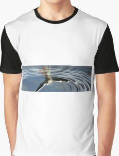 Seagull reflection Graphic T-Shirt