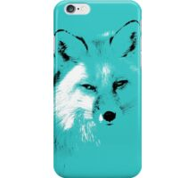 The Turquoise Fox iPhone Case/Skin