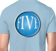 FIVE BALL, FIFTH, NUMBER 5, 5, TEAM SPORTS, Competition, BLUE Unisex T-Shirt