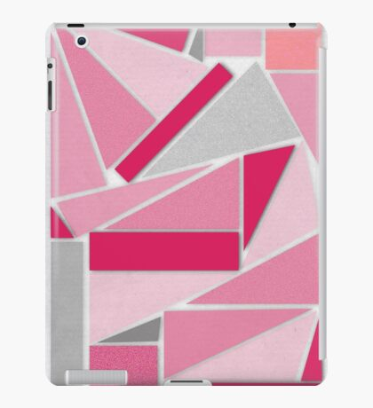 Pink graphic iPad Case/Skin