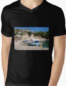 Votsi on Alonissos island Mens V-Neck T-Shirt