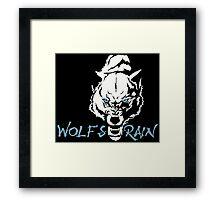 Wolf's Rain Japanese Anime Framed Print