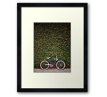 Cruiser & Wall Framed Print