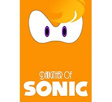 Daugther of sonic Photographic Print