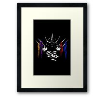 Armored Savagery Framed Print