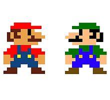 Mario And Luigi by MjodSA
