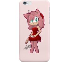 Cafe Amy Rose iPhone Case/Skin