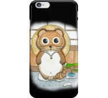 Tanuki watercolor iPhone Case/Skin