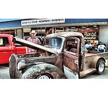 """""""Over Heatin' Just A-bit""""... prints and products Photographic Print"""