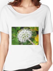 flower Women's Relaxed Fit T-Shirt