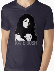 Kate Bush Mens V-Neck T-Shirt