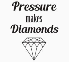 Pressure makes diamonds Baby Tee