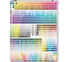 Colour Chart with codes iPad Case/Skin