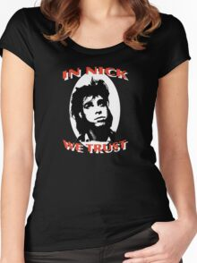 In Nick We Trust Women's Fitted Scoop T-Shirt