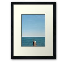 The Path to Nowhere  Framed Print