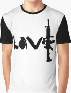 Love weapons - version 1 - black Graphic T-Shirt
