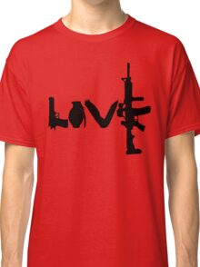 Love weapons - version 1 - black Classic T-Shirt