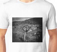 Warning! Lambs on the road Unisex T-Shirt