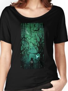Twilight Forest Women's Relaxed Fit T-Shirt