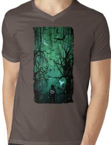 Twilight Forest Mens V-Neck T-Shirt