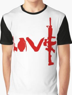 Love weapons - version 3 - red Graphic T-Shirt