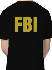 the X-files FBI Dana Scully & Fox mulder Jacket Classic T-Shirt